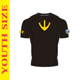 UA YAMATO BASELAYER BLK/SNL【YOUTH SIZE】
